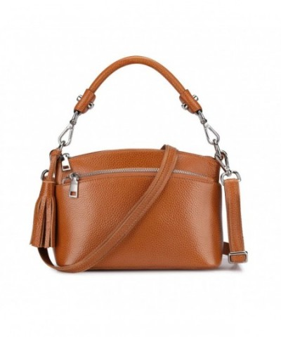 S ZONE Genuine Leather Handbags Shoulder