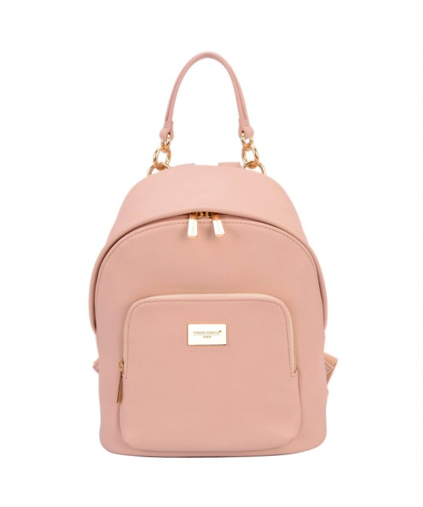 DAVID JONES INTERNATIONAL Leather Backpack