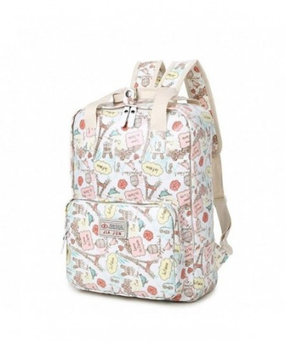 Fashion Pattern Backpack Bookbags VOLINER