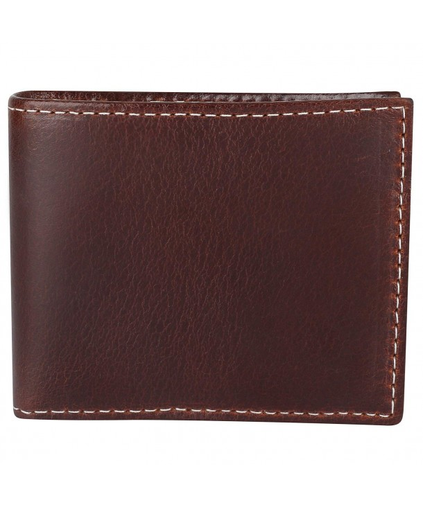 Blocking Bi fold Vintage Leather Wallet