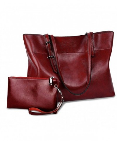 YALUXE Womens Leather Shoulder Upgraded