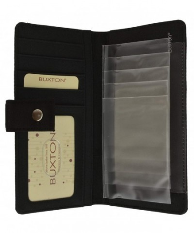Buxton Heiress Snap Card Wallet