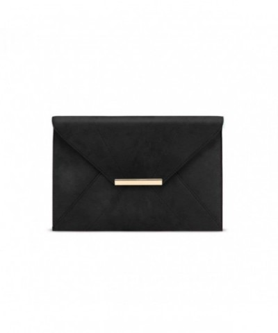 GESSY Envenlope Clutches Handbags Removable