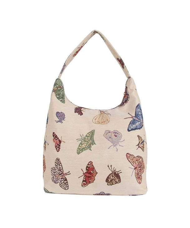 Butterfly Tapestry Shoulder Signare HOBO BUTT