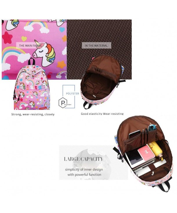 Unicorn Fantasy Backpack Rucksack Student