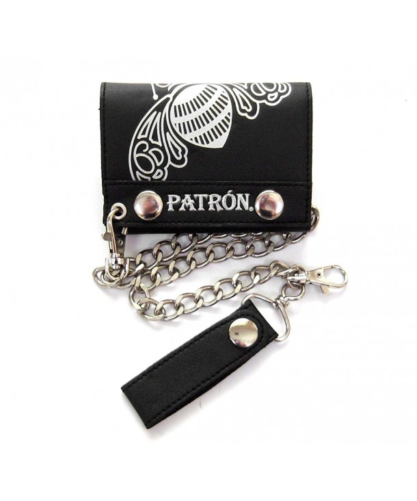 Patron Tequila Silver Leather Wallet