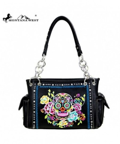 Montana West Collection Embroidered Handbag