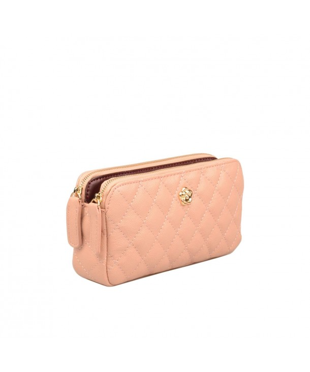 Ainifeel Genuine Leather Quilted Billfold