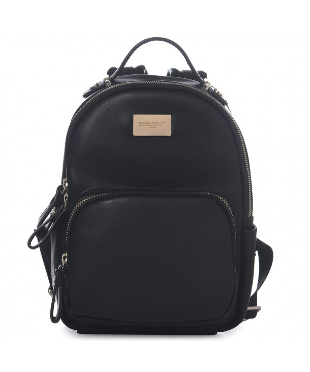... DAVIDJONES Women s Faux Leather Mini Small Shoulder Travel Bag Backpack  Purse - Black - CQ12H4UJ7X1. DAVID INTERNATIONAL Classic Backpack Shoulder beb7b9dc8867b