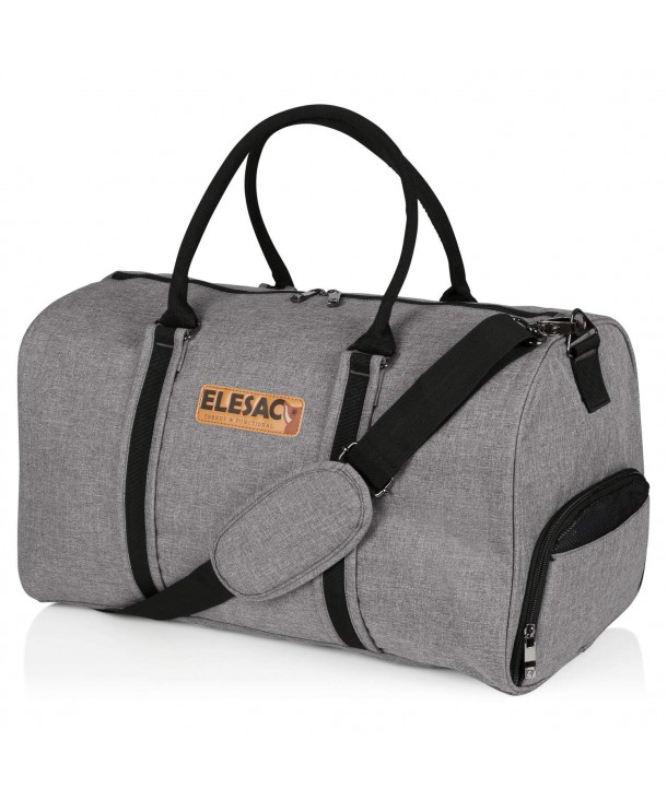 EleSac Canvas Style Duffel Compartment