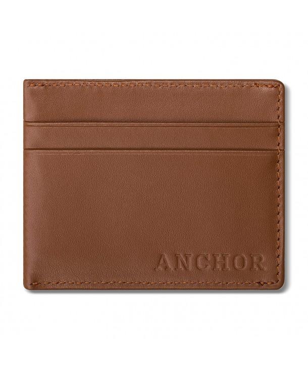 Leather Wallet Blocking Magnet Pocket