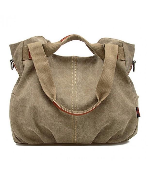 Aisa Vintage Shoulder Shopper Handbag