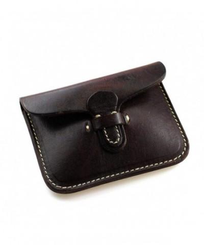 Handmade Leather Pocket Wallet Minimalist