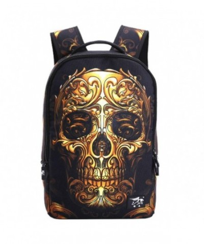 HANRUI Personalized Studded Backpack Bookbags