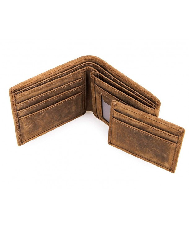 DRF Bifold Leather Wallet Credit