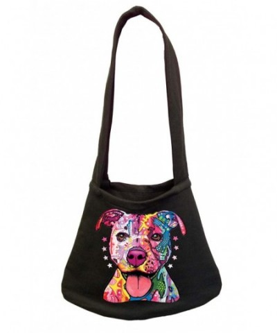 Neon Pitbull Womens Shoulder Black