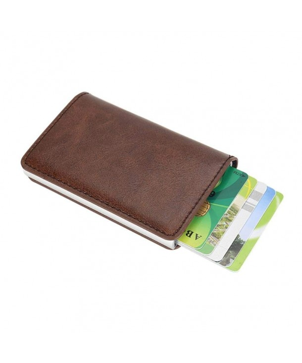 KaiCran Leather Credit Protector Holder