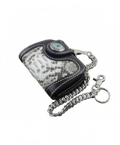 Handmade Snake Leather Wallet Vintage