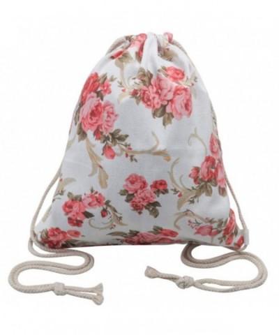Peicees Drawstring Backpack Gymsack Sackpack