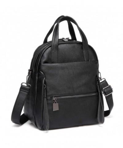 Backpack Kasqo Convertible Leather Shoulder
