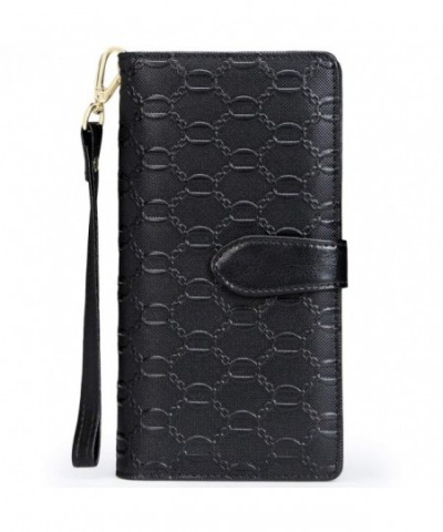 FOXER Leather Wallet Wristlet Capacity