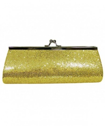 Metallic Evening Handbag Clutch Shoulder