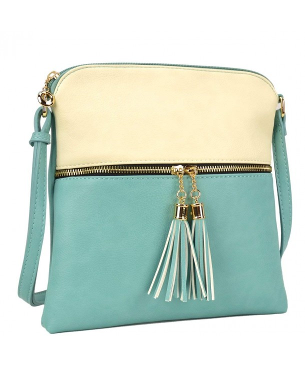 Purse Satchel Cross body Messenger LP062 BG