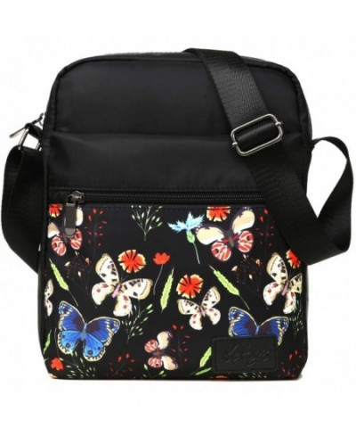 Kemys Crossbody Traveling Butterfly Thanksgiving