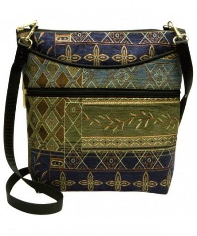 Danny Tapestry Crossbody Handbag Handmade