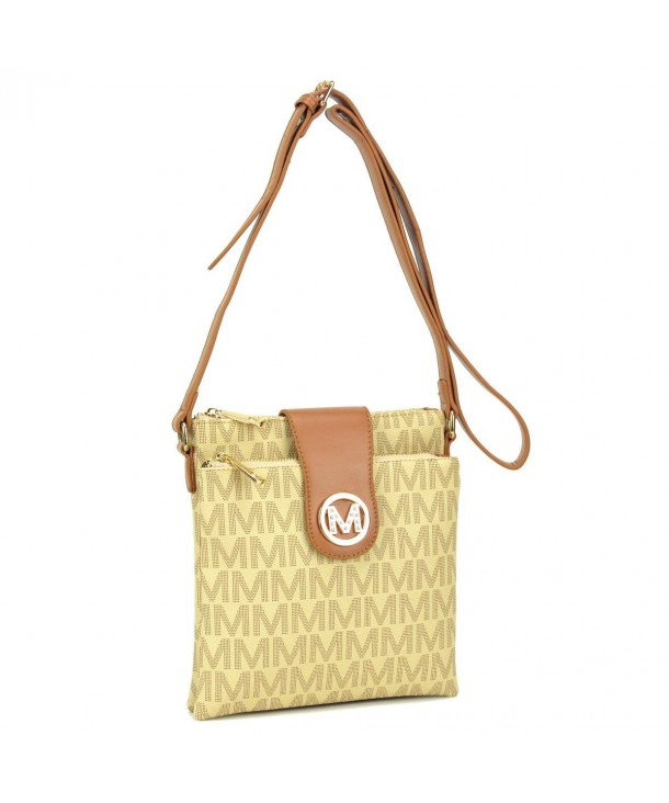 Double Compartment Crossbody Magnetic Monogram x