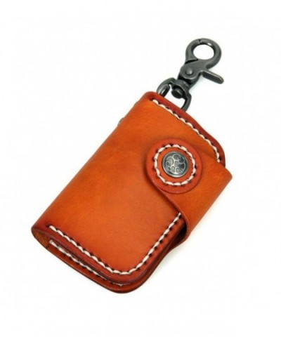 Genuine Leather Keychain Holder Wallet