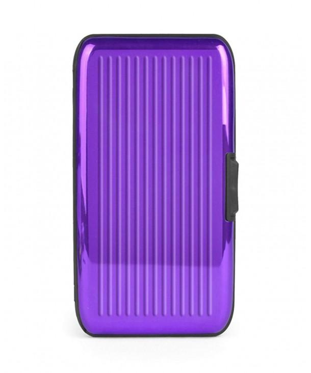 Sleek Solid Color Holder Purple