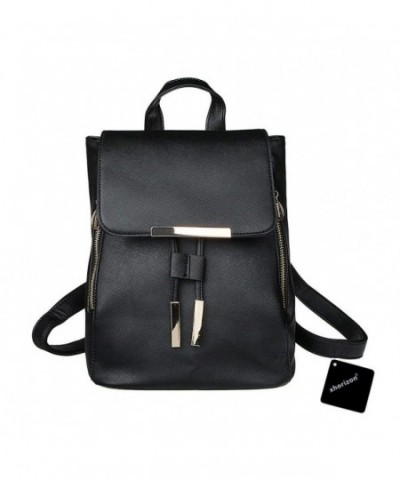 xhorizon Leather Casual Backpack Shoulder