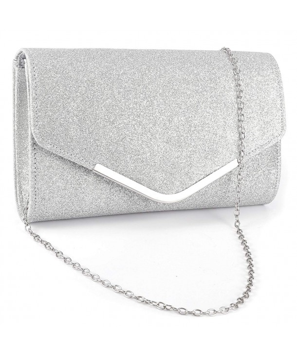 Anladia Metal Tipped Sparkle Glittered Envelope