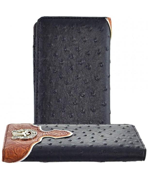 B42 2 Western Praying Cowboy Wallet 4296A