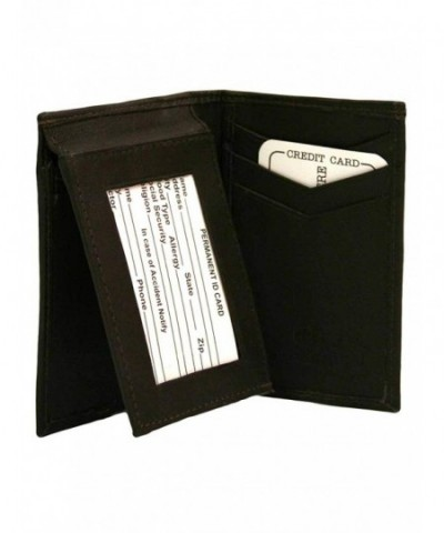 Brown Multi Bifold Leather Wallet