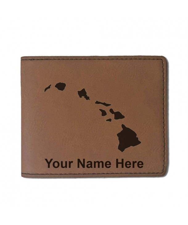 Leather Hawaiian Personalized Engraving Included
