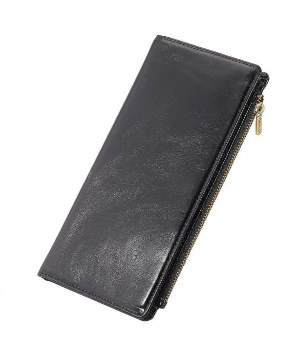 Bifold Wallet Genuine Leather Wallets