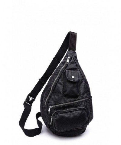 Vintage Washed Effect Backpack Farrow