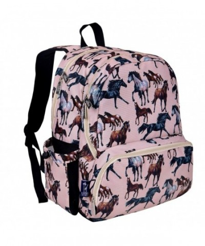 Wildkin Backpack Zippered Compartments Moisture Resistant