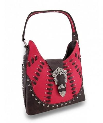 Western Stitched Shoulder Rhinestone Handbags