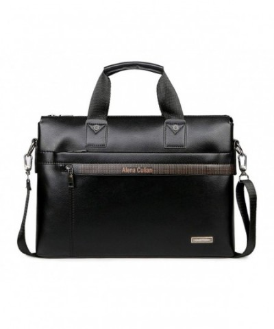 Briefcase Messenger Laptop Shoulder BLack