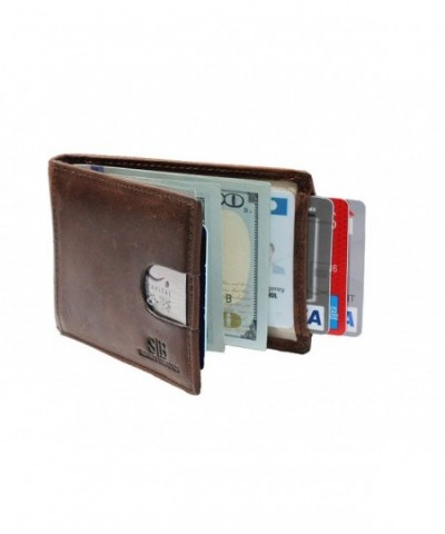 Blocking Genuine Leather Minimalist Wallets