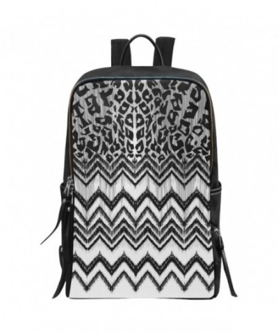 InterestPrint Leopard School Backpack Daypack