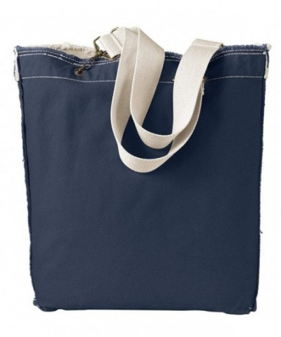 Authentic Pigment Direct Dyed Raw Edge Tote