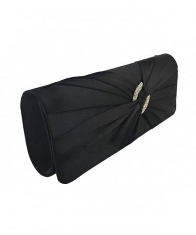 AITING Diamante Pleated Evening Handbag