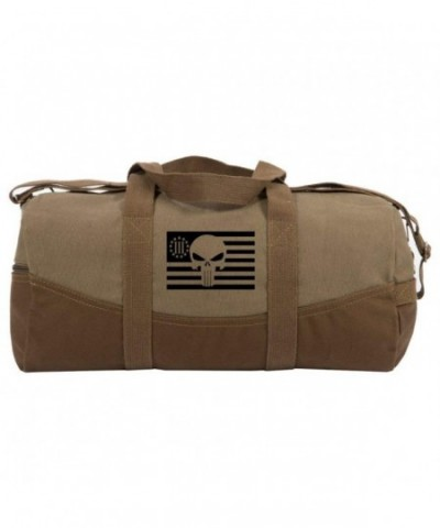 Punisher Precenter American Canvas Duffle