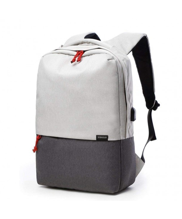Rucksack Backpack College Charging Off White