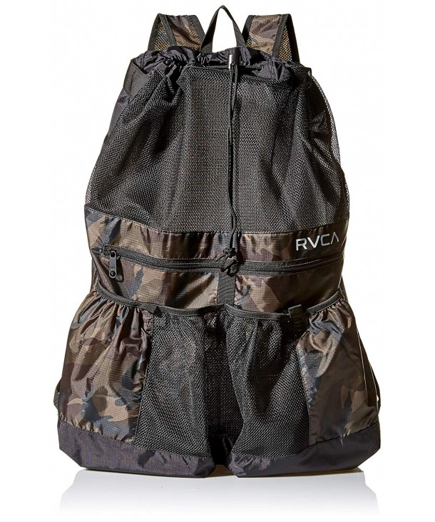 RVCA MABKNRRD Mens Drawcord Backpack