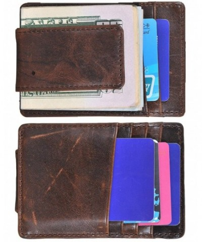Wallet Genuine Leather Pocket Coffee